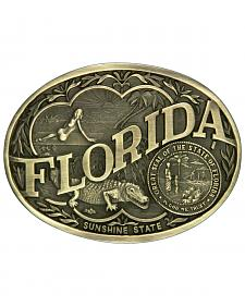 Montana Silversmiths Florida State Heritage Attitude Belt Buckle