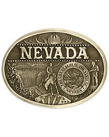 Montana Silversmiths Nevada State Heritage Attitude Belt Buckle