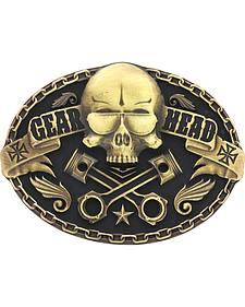 Montana Silversmiths Gearhead Heritage Attitude Belt Buckle