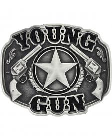 Montana Silversmiths Little Attitude Young Gun Belt Buckle