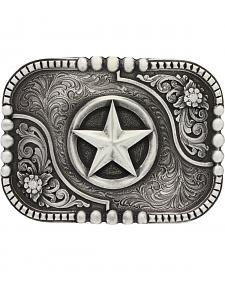 Montana Silversmiths Classic Impressions Lone Star Attitude Belt Buckle