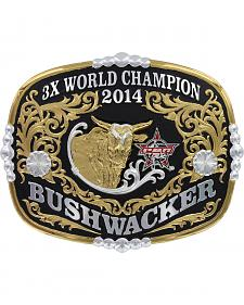 Montana Silversmiths Collector's Edition Bushwacker 3X Champion Belt Buckle