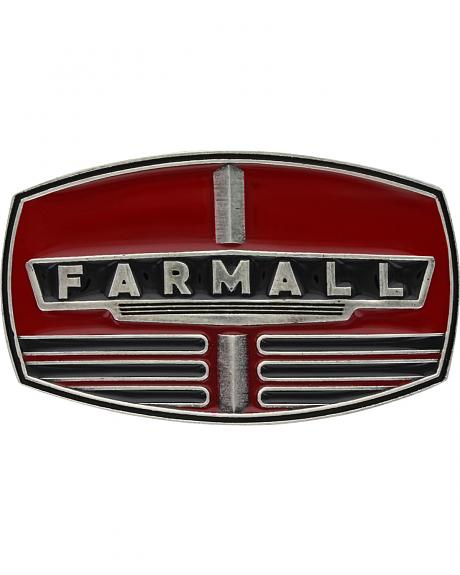 Montana Silversmiths Men's Case IH Farmall Red Grill Buckle