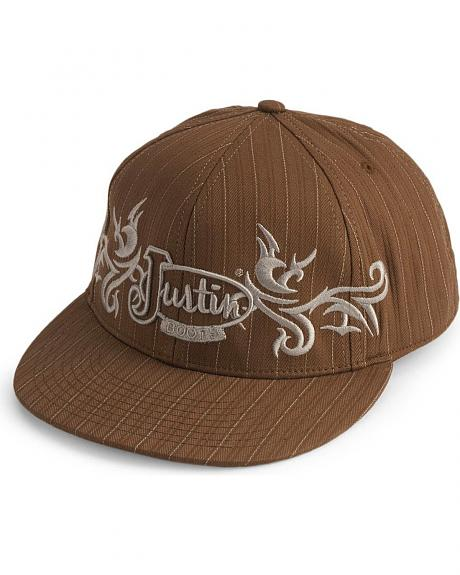 Justin Boots Fitted Baseball Cap