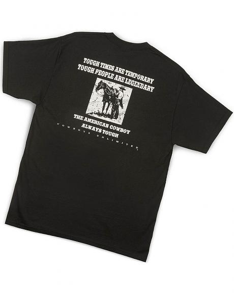 Cowboys Unlimited Black Legendary T-Shirt