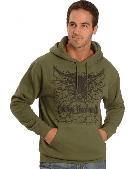 Cowboy Hardware Graphic Pullover Hoodie