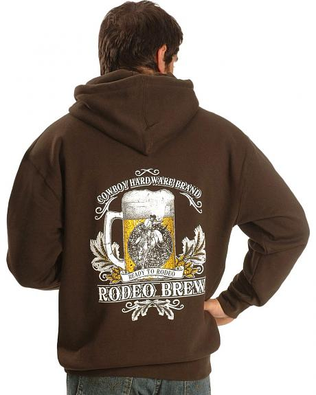 Cowboy Hardware Rodeo Brew Pullover Hoodie