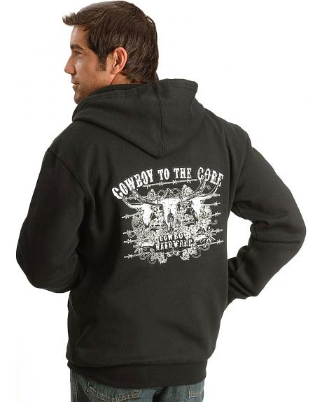 Cowboy Hardware Cowboy to the Core Zip Hoodie