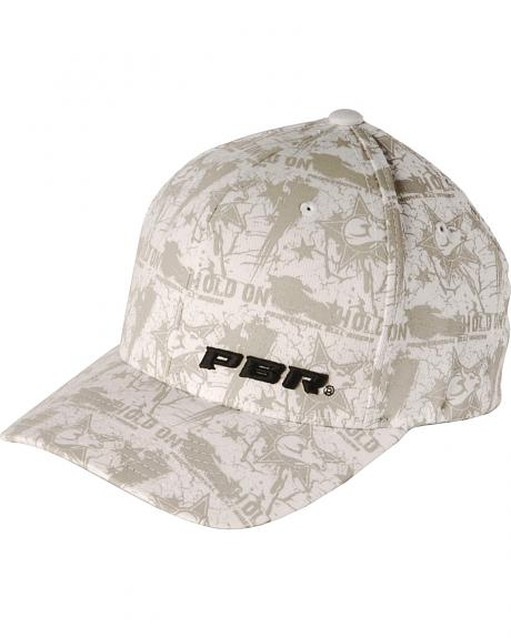 PBR Hold On White Flexfit Cap