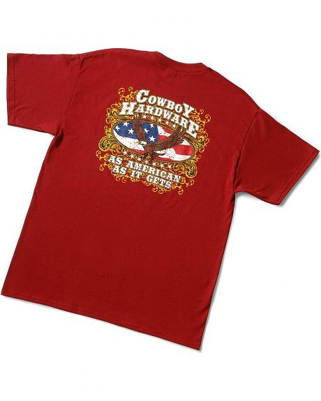 Cowboy Hardware As American As It Gets T-Shirt
