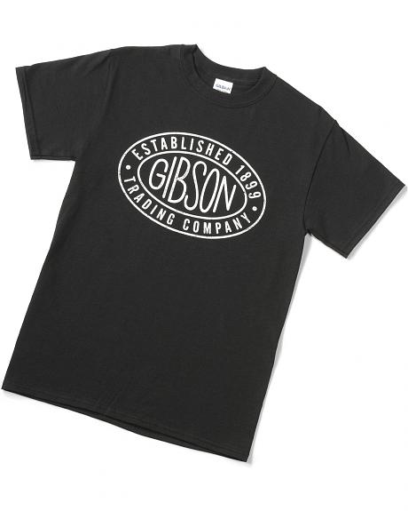 Exclusive Gibson Trading Company  Logo Tee