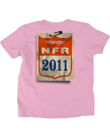 Girls' Wrangler National Finals Rodeo Tee - 2-16