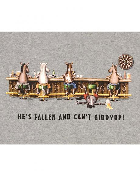 Fallen And Can't Giddyup T-Shirt