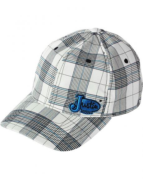 Justin Flex Fit Bright Plaid Cap