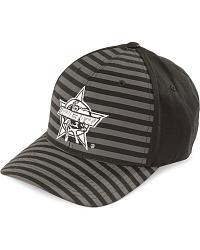 PBR Striped Flex Fit Cap at Sheplers