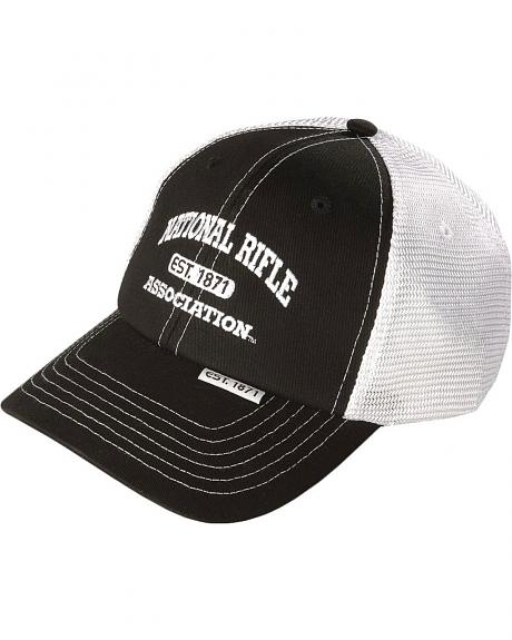 NRA Embroidered Logo Cap