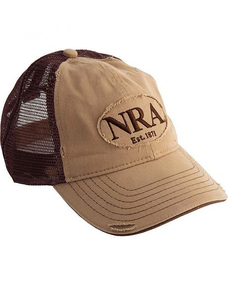 NRA Two-Tone Logo Patch Cap