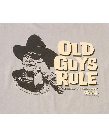 Old Guys Rule Trust a Man T-Shirt