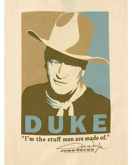 Old Guys Rule The Duke Portrait T-Shirt