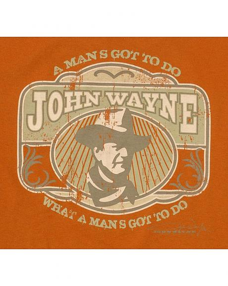 Old Guys Rule John Wayne T-Shirt