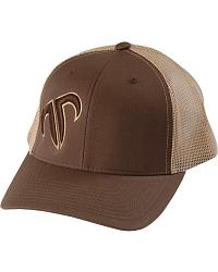 Rank Bull Puffed Icon Trucker Cap at Sheplers