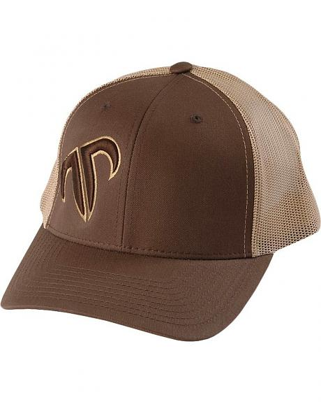 Rank Puffed Icon Trucker Cap