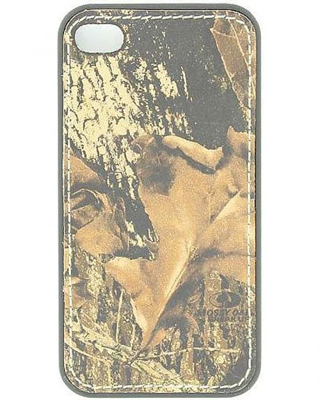 Nocona Mossy Oak Camo Leather iPhone 4 & 4S Case