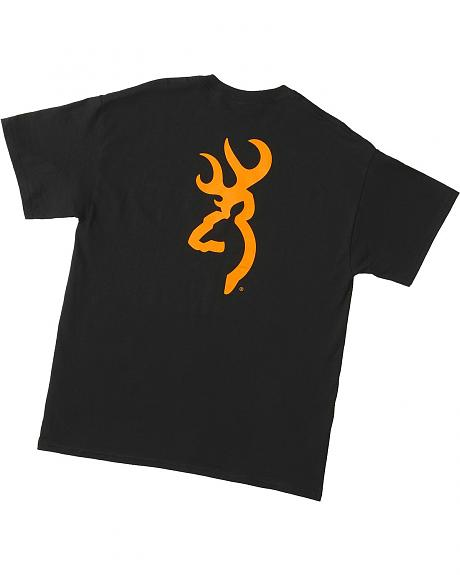 Browning Buckmark Gold & Black T-Shirt