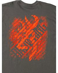 Browning Line Out Charcoal T-Shirt at Sheplers