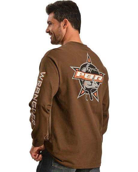 Wrangler PBR Long Sleeve Shirt