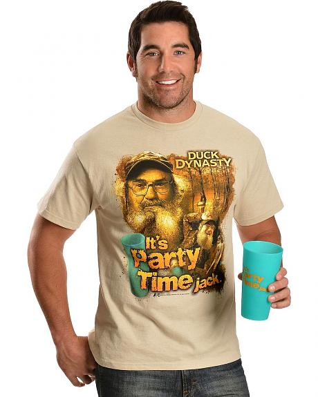 Duck Dynasty T-Shirt in a Cup