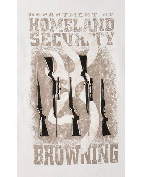 Browning Homeland Security White T-Shirt