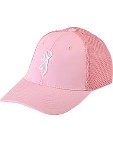 Browning Pink Buckmark Cap