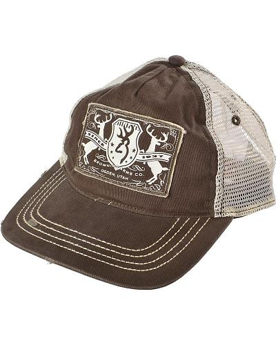 Browning Logo Applique with Mesh Back Cap Western & Country 308233881