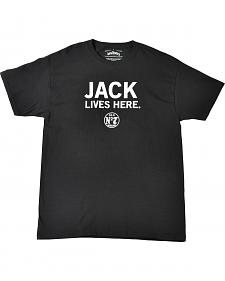 Jack Daniel's Men's Jack Lives Here T-Shirt