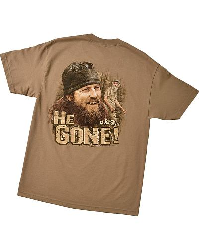 "Duck Dynasty ""He Gone"" T-Shirt Western & Country 600-1469"