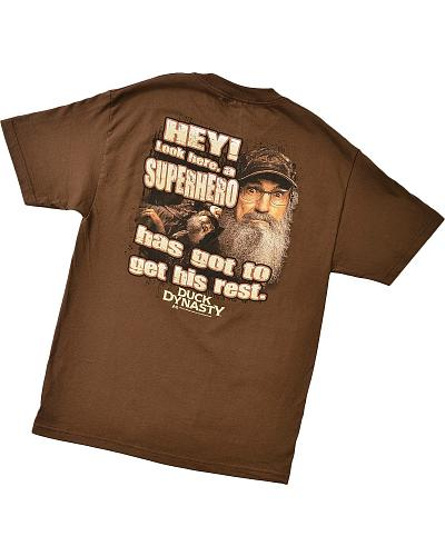"Duck Dynasty ""Super Hero"" T-Shirt Western & Country 600-1472"