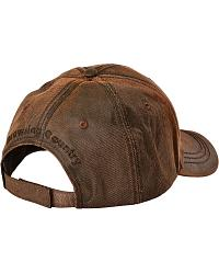 Sheplers Exclusive - Browning Logo Oilskin Cap at Sheplers