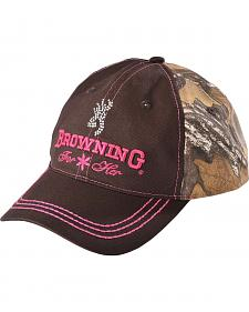Browning Women's Bejeweled Camo Cap