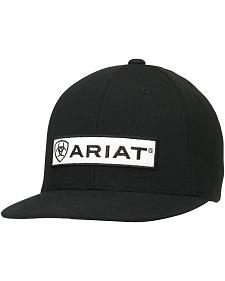 Ariat Black Flat Bill Cap