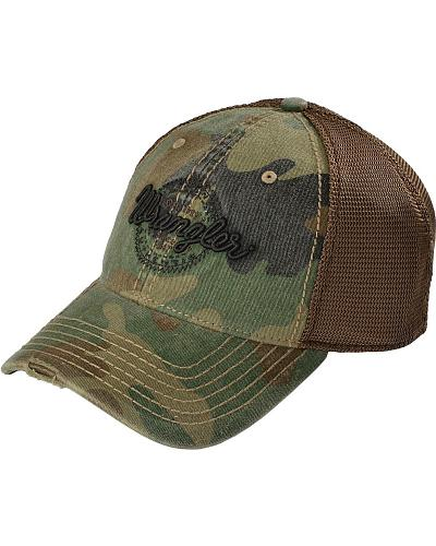 Wrangler Camo Mesh Back Cap Western & Country MWC162M