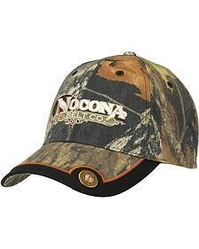 Nocona Mossy Oak Camo Shotgun Shell Concho Cap