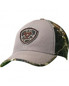 Ariat Camo & Mesh Embroidered Logo Patch Cap