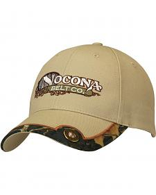 Nocona Tan Shotgun Shell Concho Cap