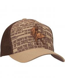 PBR Flex Fit Mesh Back Bull Rider Casual Cap