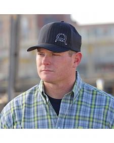 Cinch Flex Fit Navy Pinstripe Cap