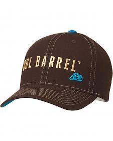 Double Barrel Logo Embroidered Flex Fit Cap