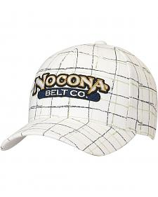 Nocona Logo Patch Plaid Cap