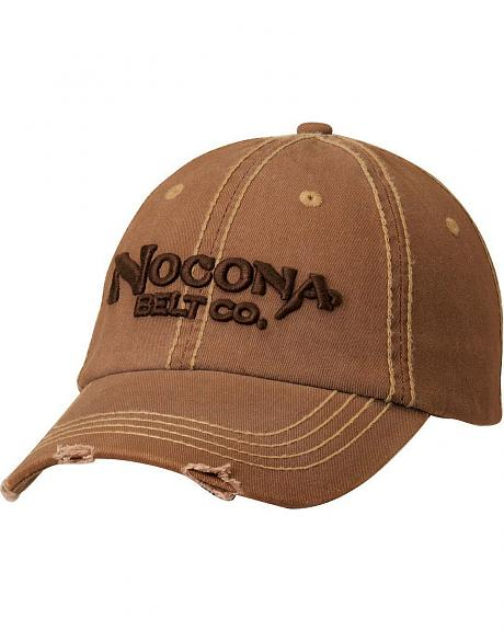 Nocona Distressed Wash Logo Cap