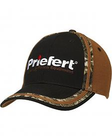 Priefert Logo Embroidered Camo Cap
